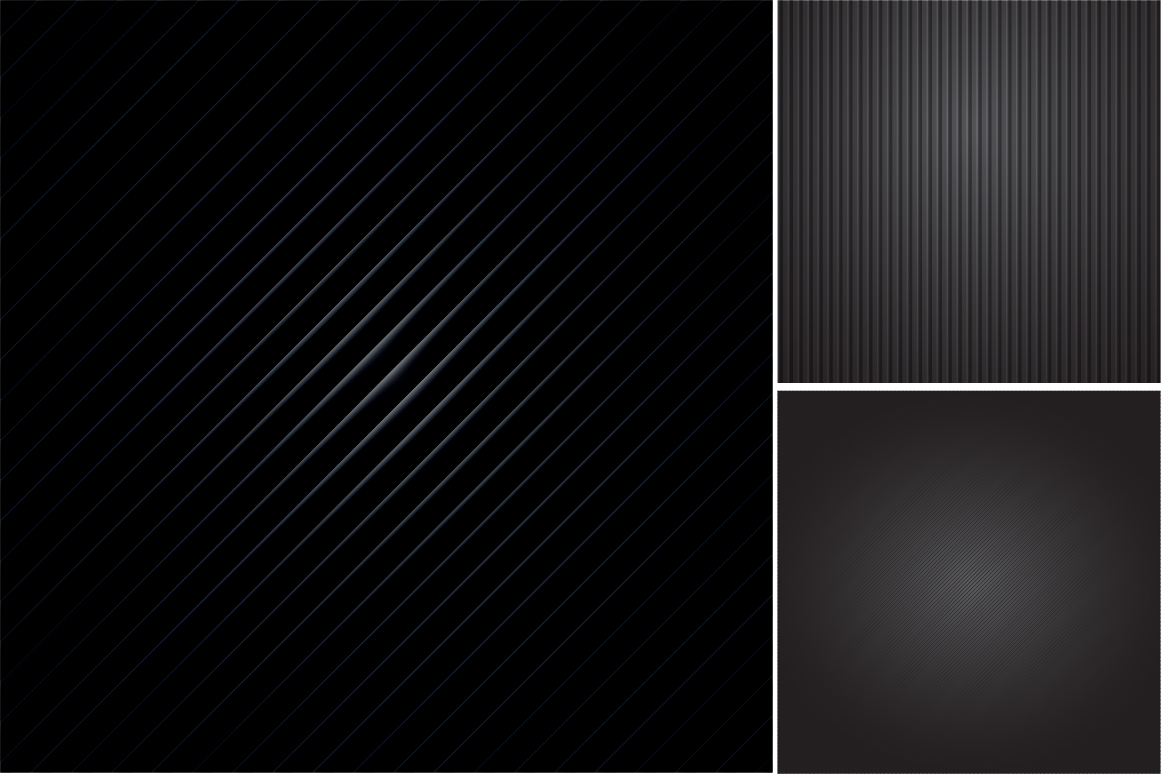 Colleciton of black striped textures example image 3