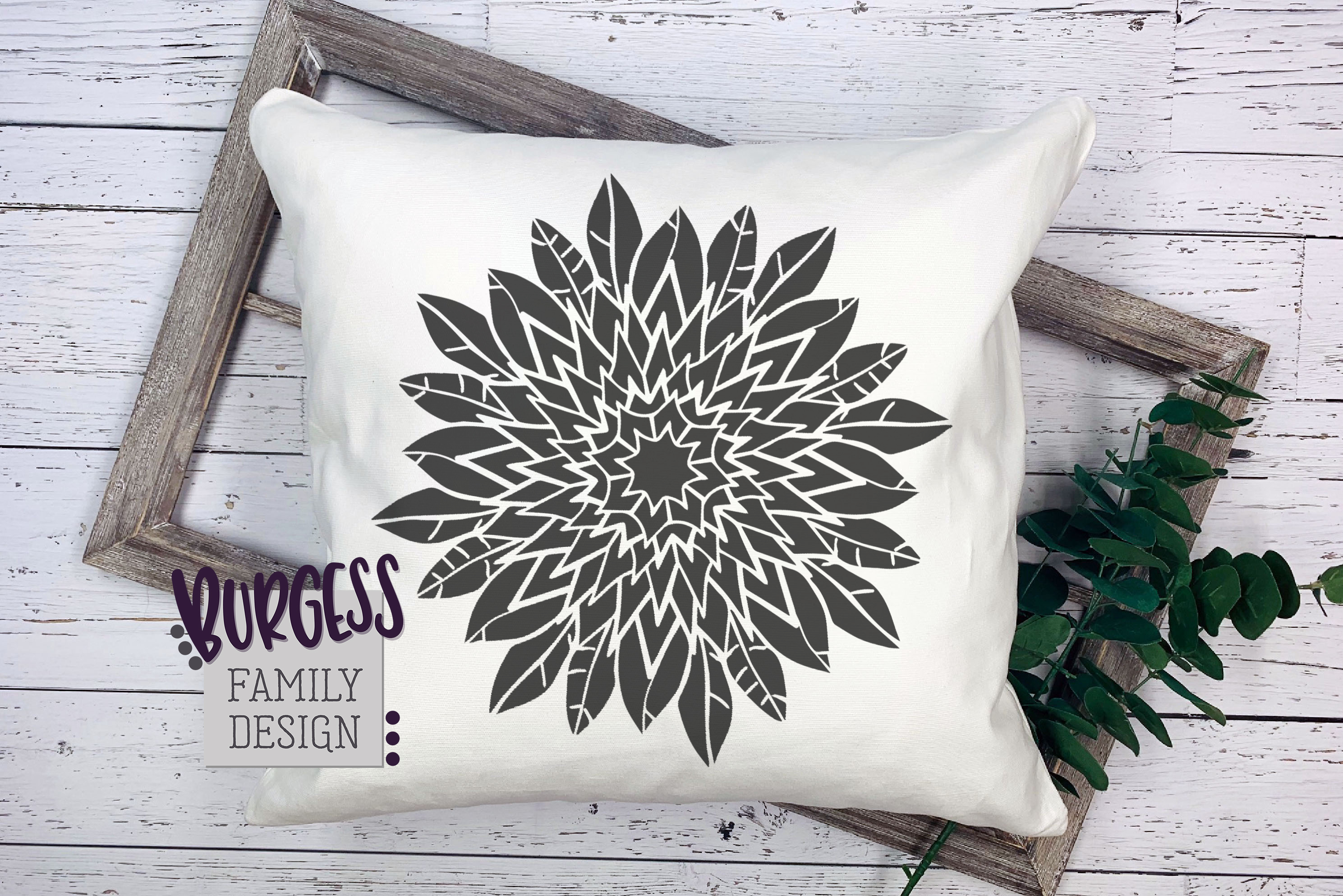 Mandala flower | Cuttable file example image 5
