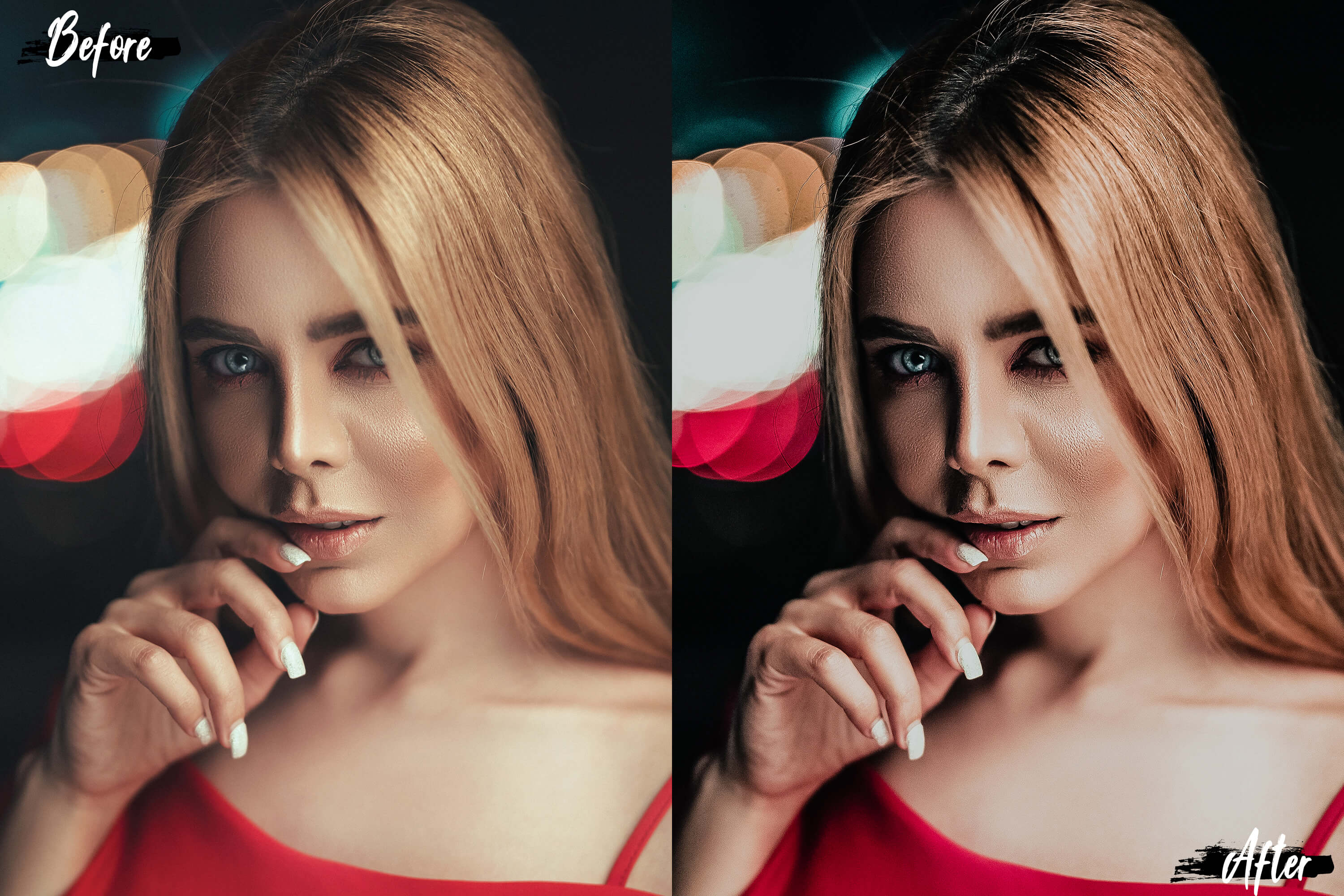 5 Hot chocolate Photoshop Actions, ACR and LUT presets example image 2