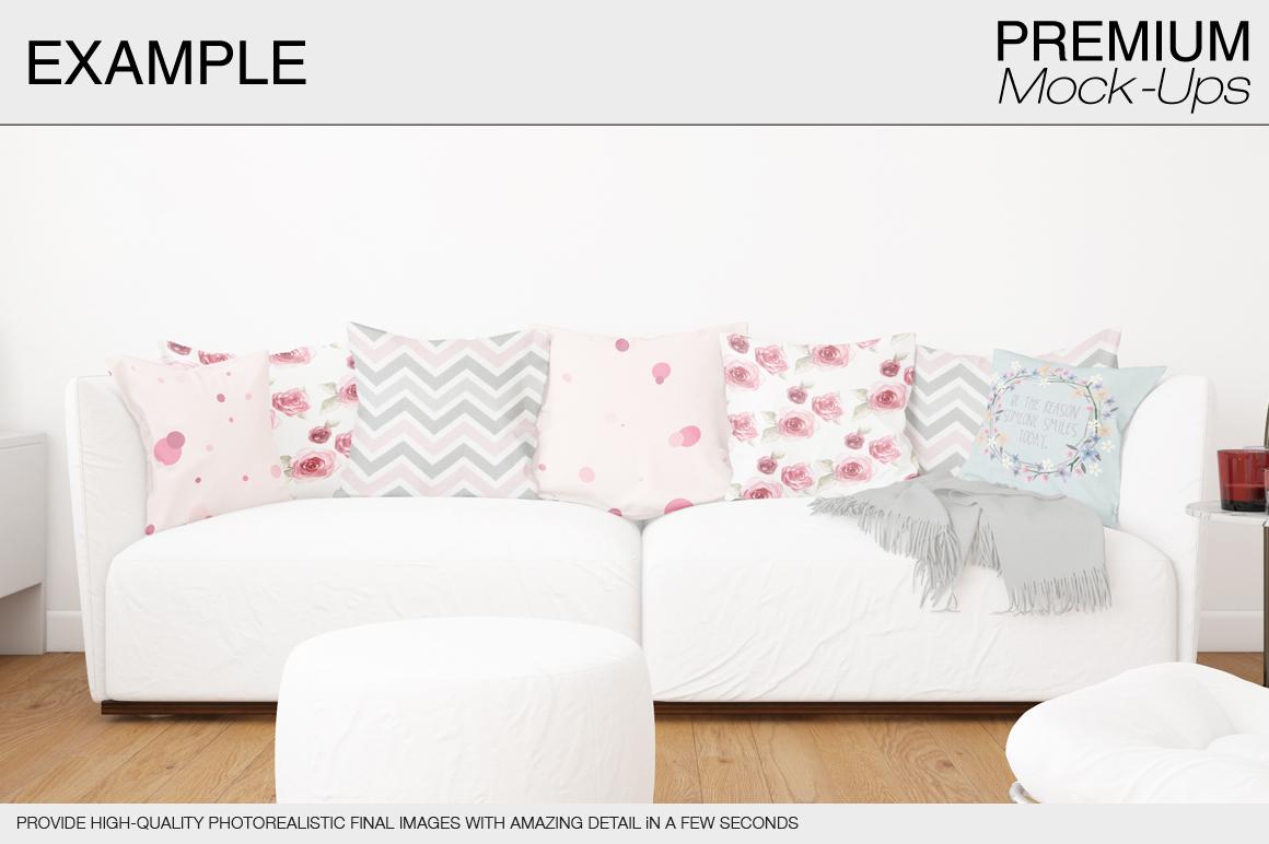 Pillow Mockup Set example image 9