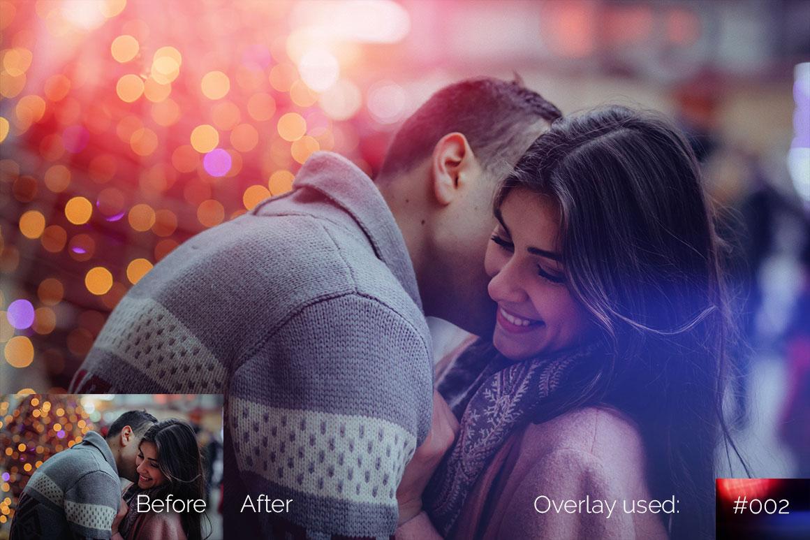 119 Colorful Light Leaks Photo Overlays example image 6