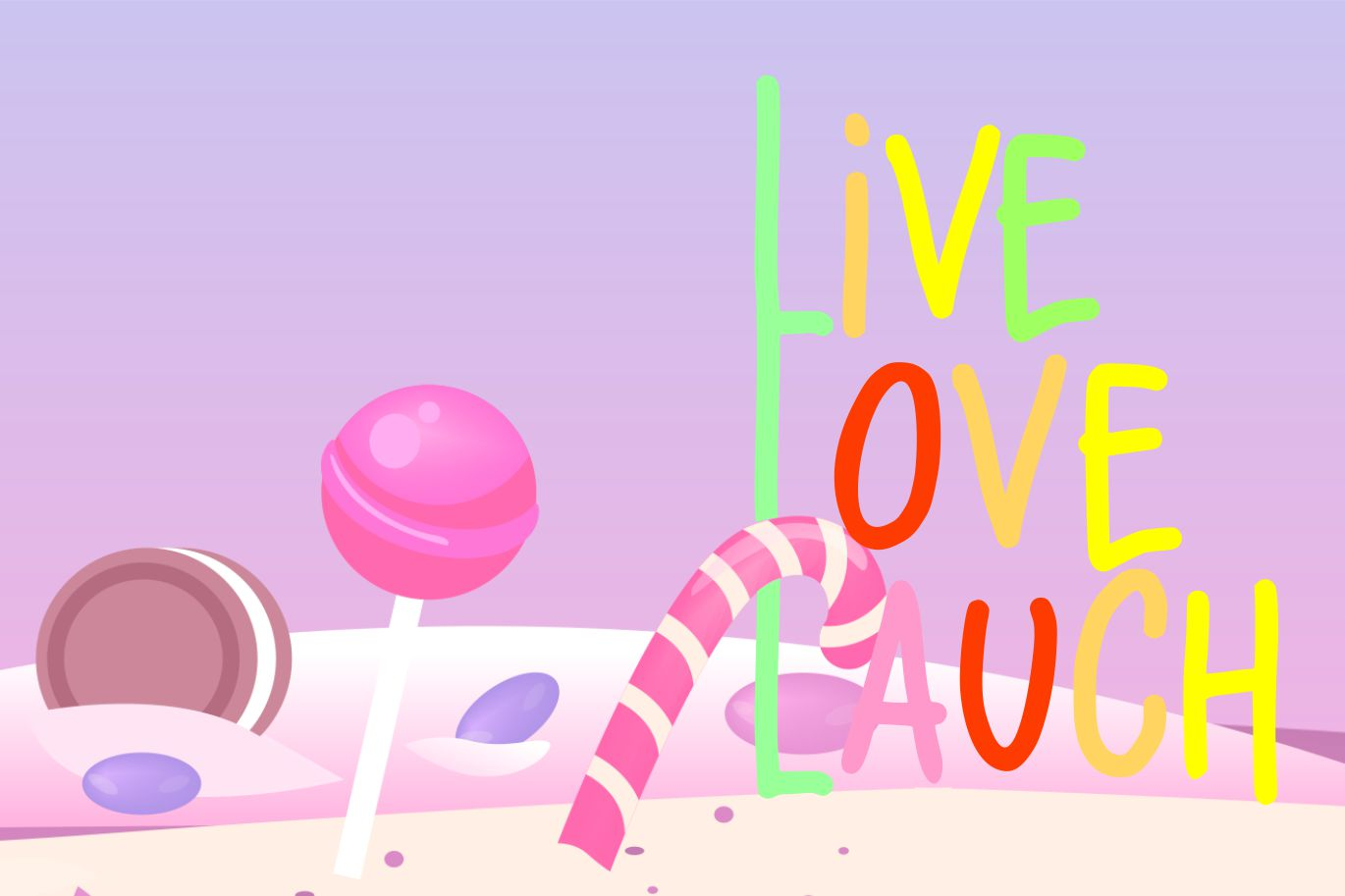 Lolipop | Candy Funny Font example image 4