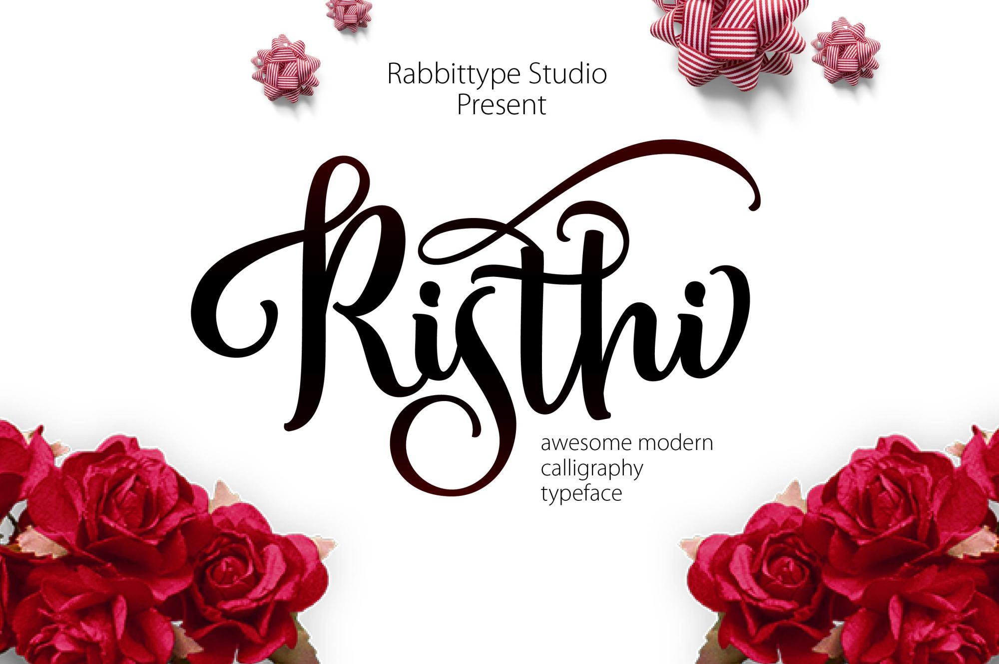 RISTHI Script example image 1