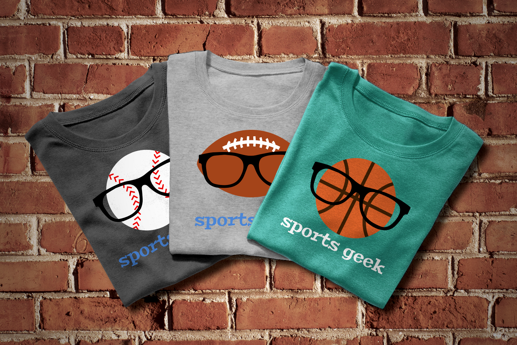 Sports Geek SVG File Cutting Template example image 1