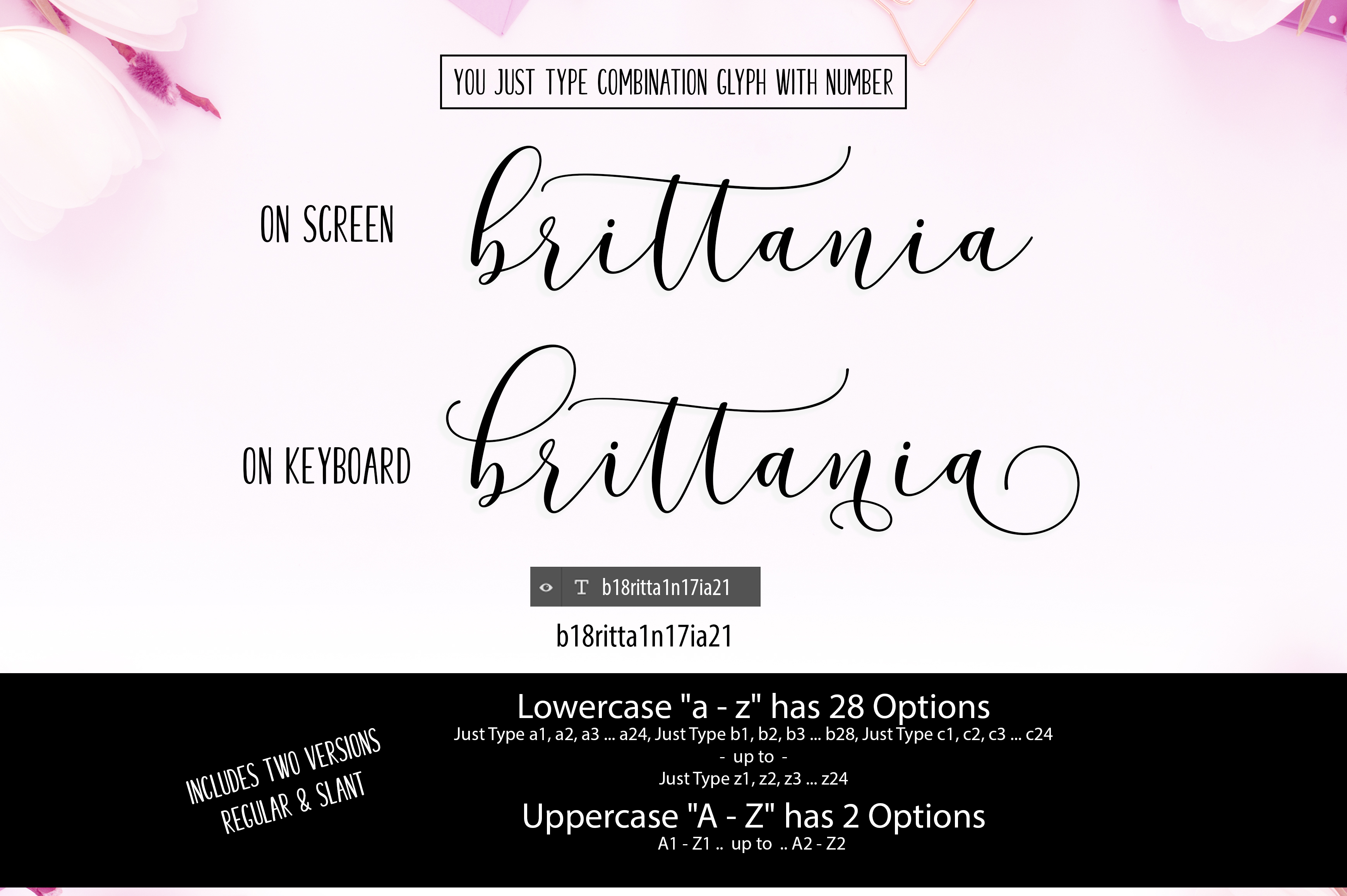 New! Brittania | 5 Font | 35% Off example image 5