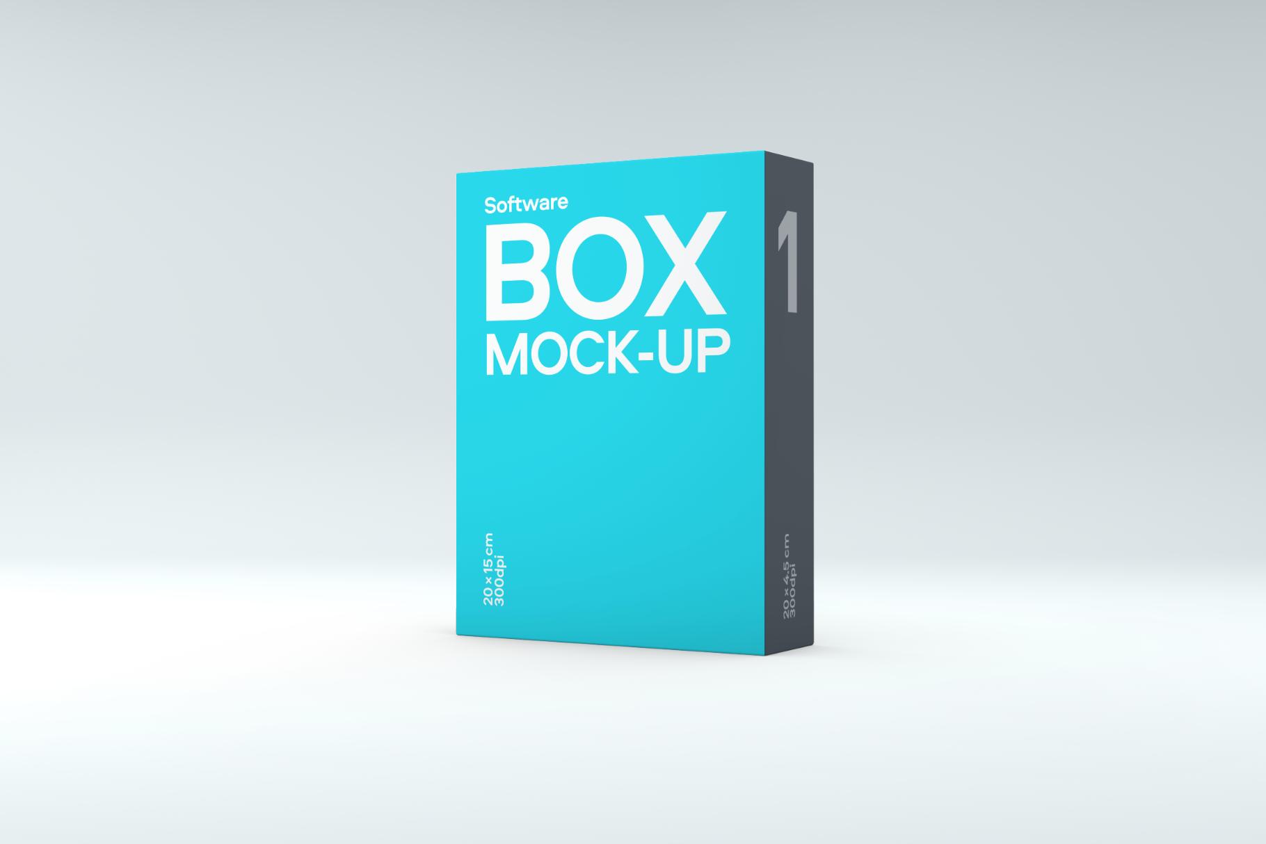 Software Box Mockup example image 4
