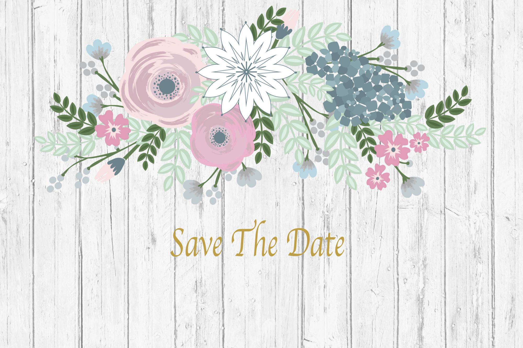 Save the date example