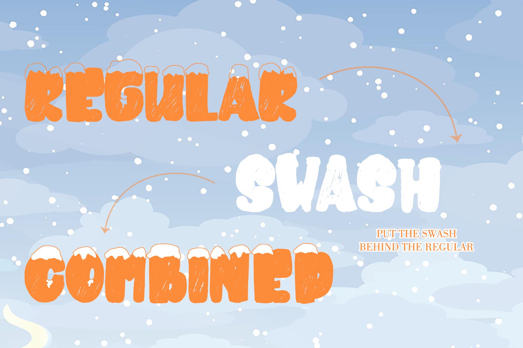 SNOWKY BRUSH example image 7