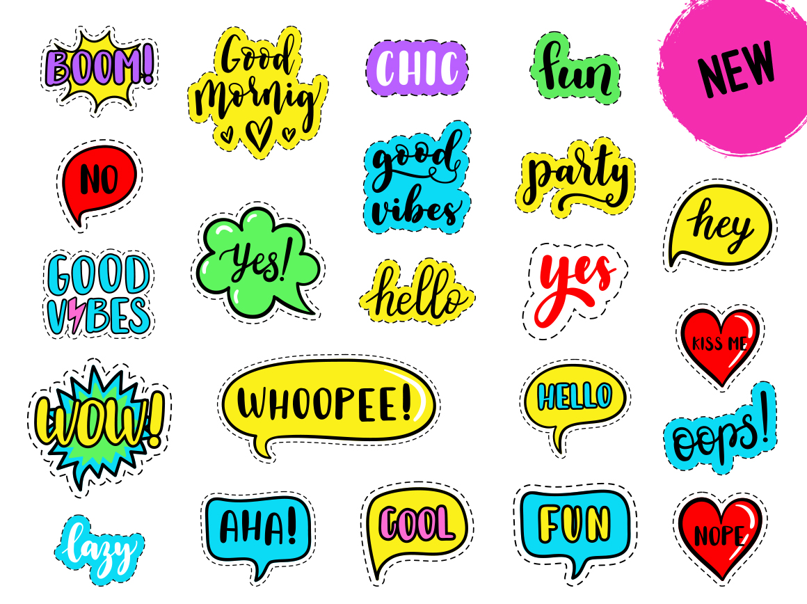 100 Funny patches 27 patterns example image 5