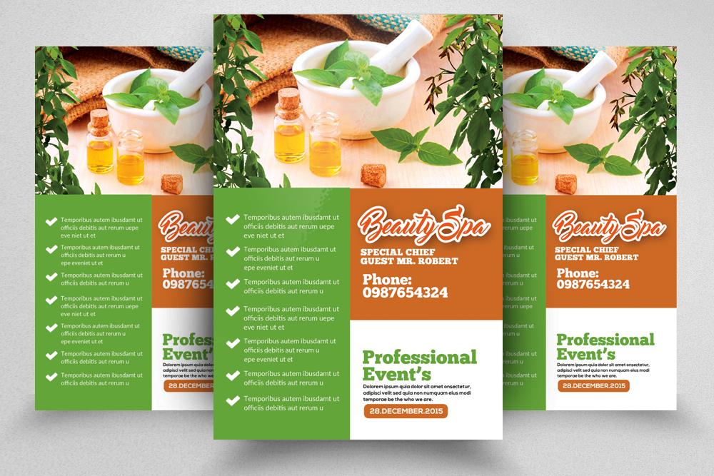 10 Spa & Skin Care Centre Flyer Bundle example image 8