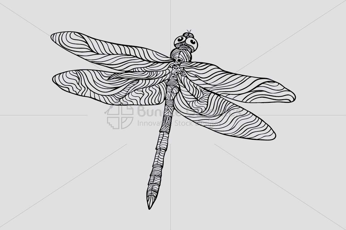 Dragonfly - Beautiful Insect Graphics example image 2