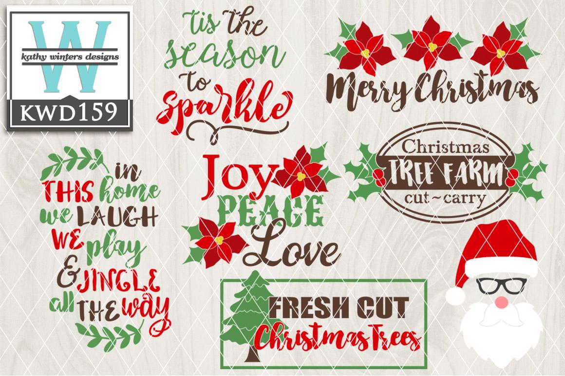 Christmas SVG - Christmas Bundle KWD159 example image 1