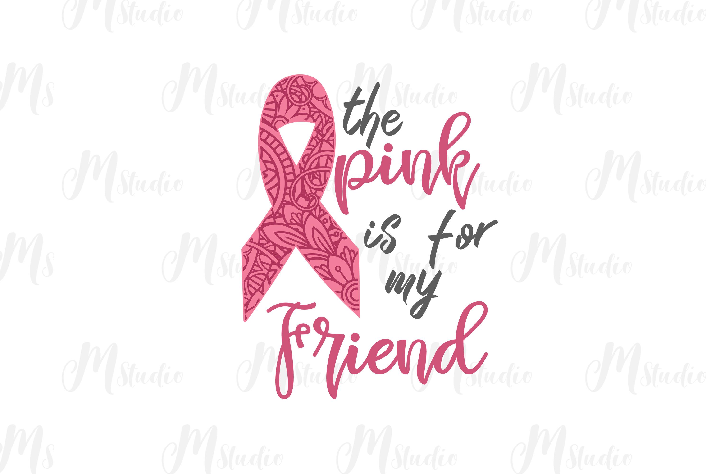 Cancer Awareness bundle SVG example image 27