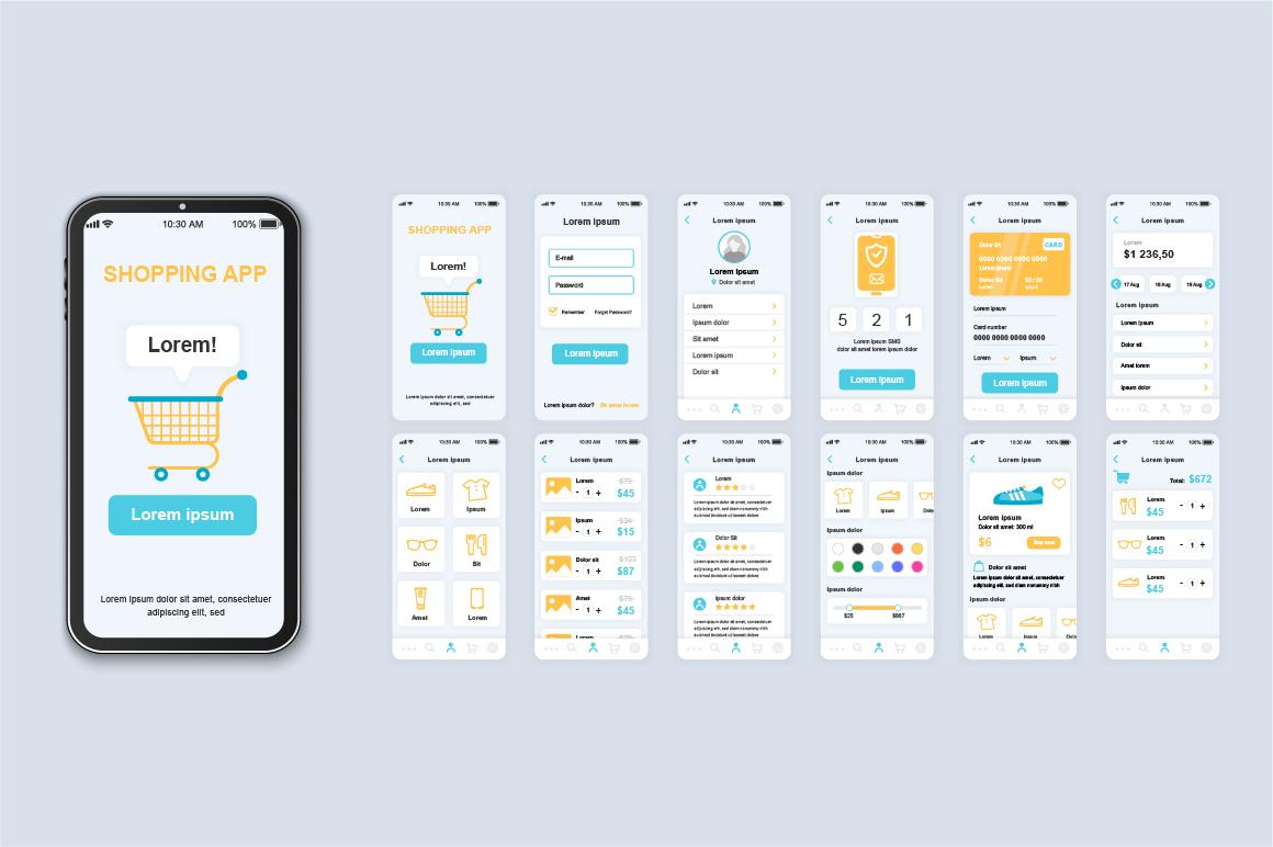 Bundle Mobile App UI Kit Screens example image 14