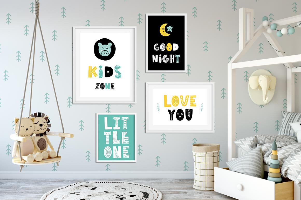 Tiny Joy Font - Scandinavian & Kids example image 4