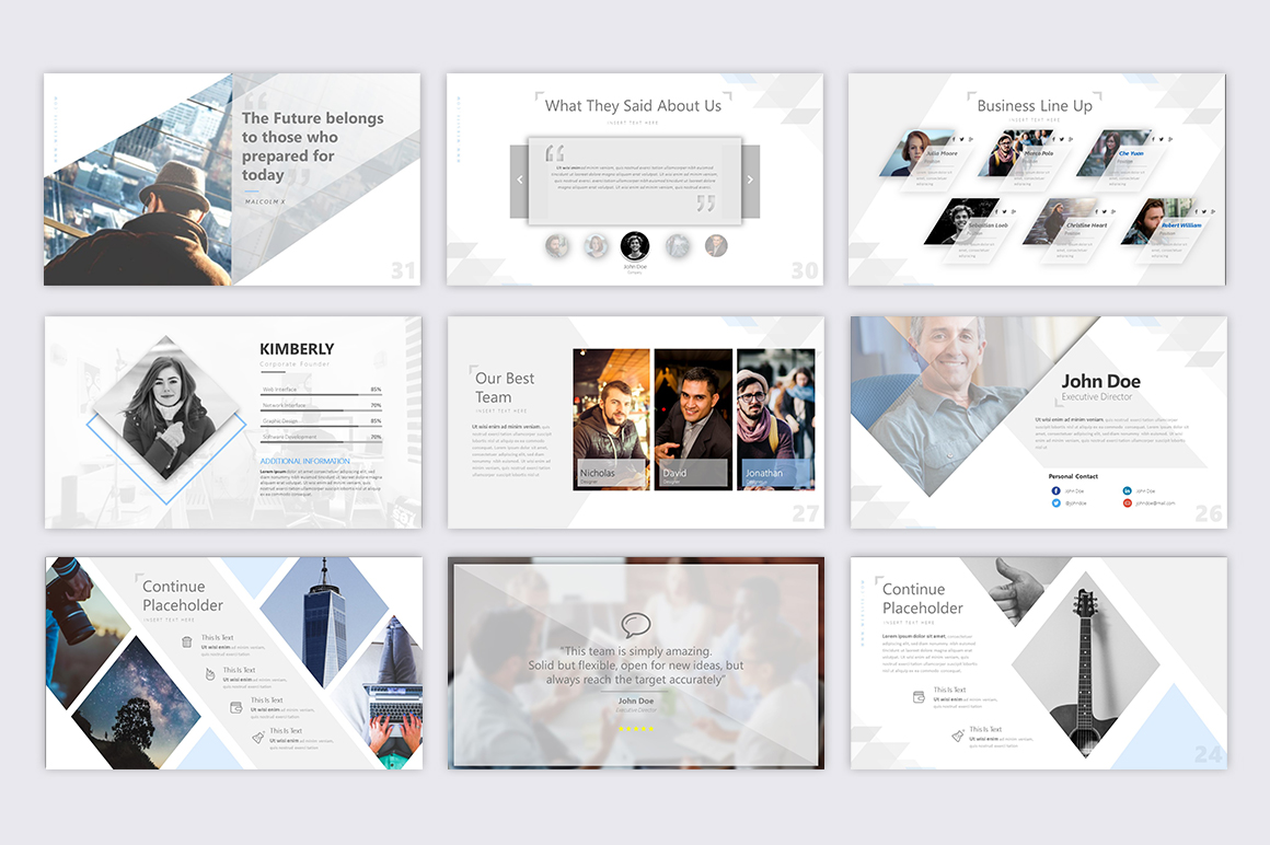 Exclusive Powerpoint Template example image 4