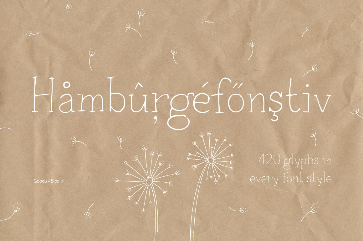 Goody—handwritten font example image 3