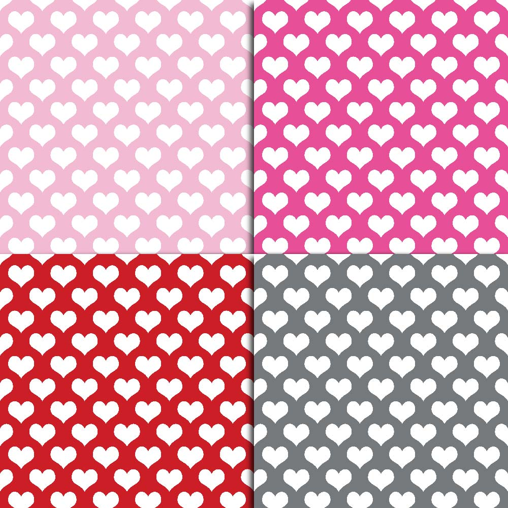 Heart Digital Paper example image 5