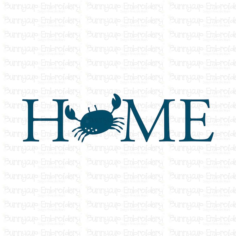 Home With Crab - SVG, Clipart, Printable example image 2