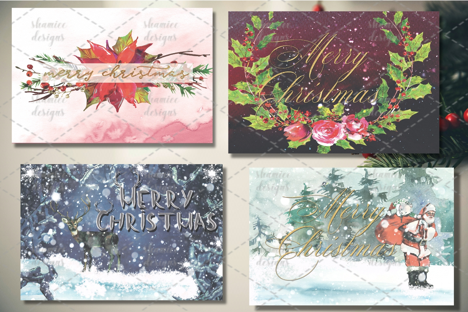 Christmas cards example image 1