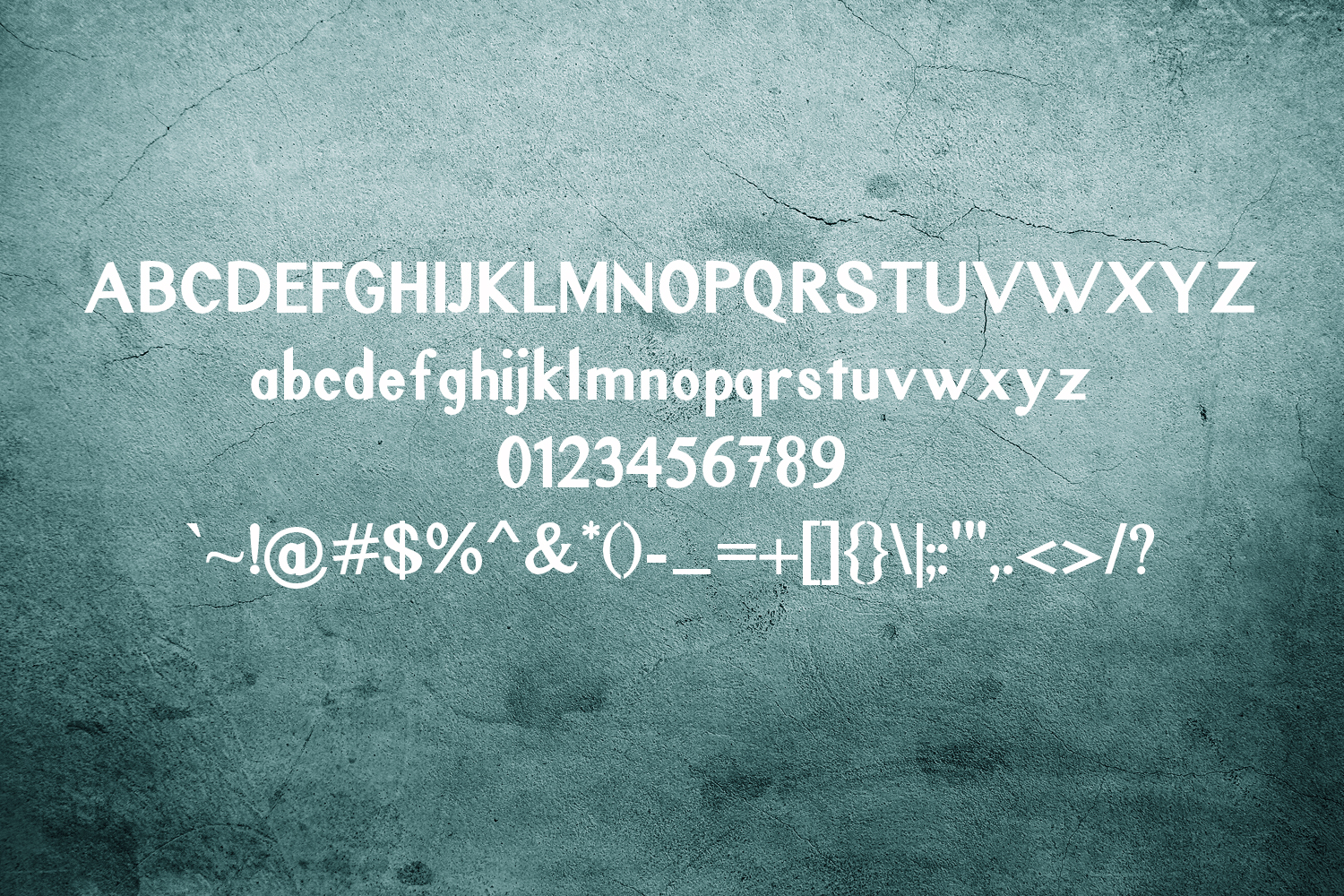 Rustic Oak A Grunge, Solid, and Stencil Font example image 3