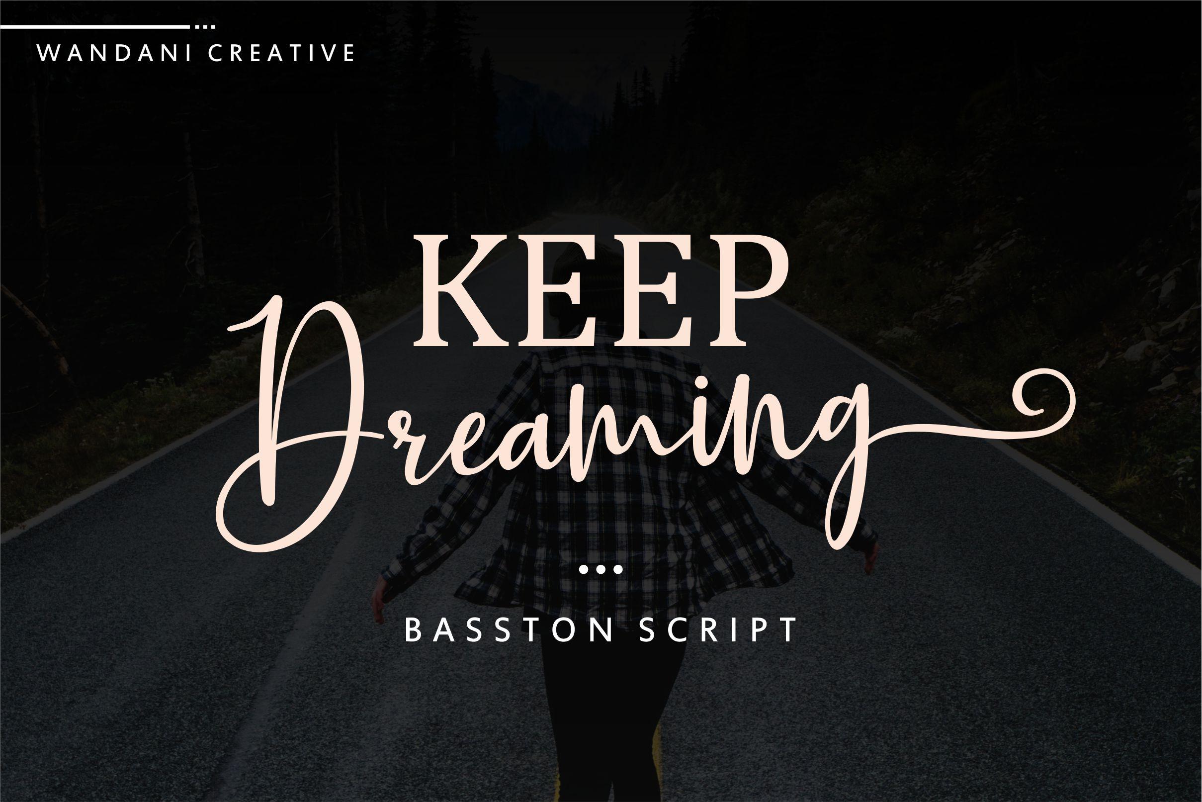 Basston Script example image 2
