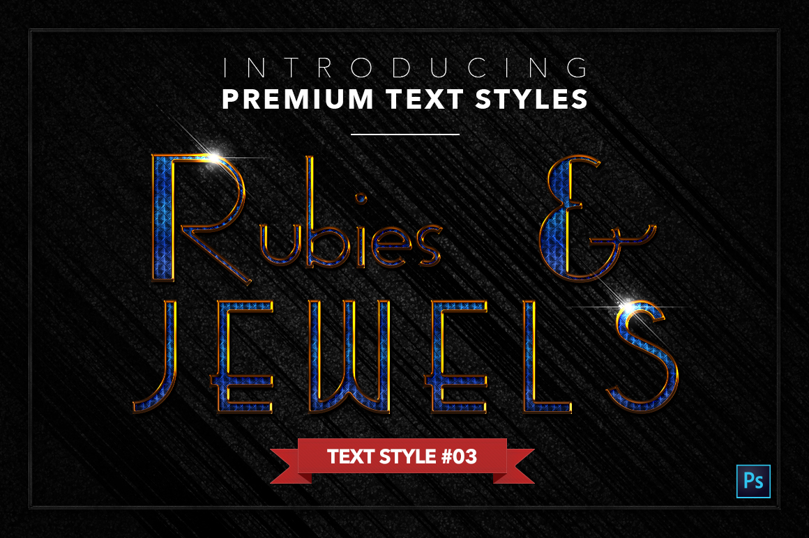 Rubies & Jewels #1 - 20 Text Styles example image 4