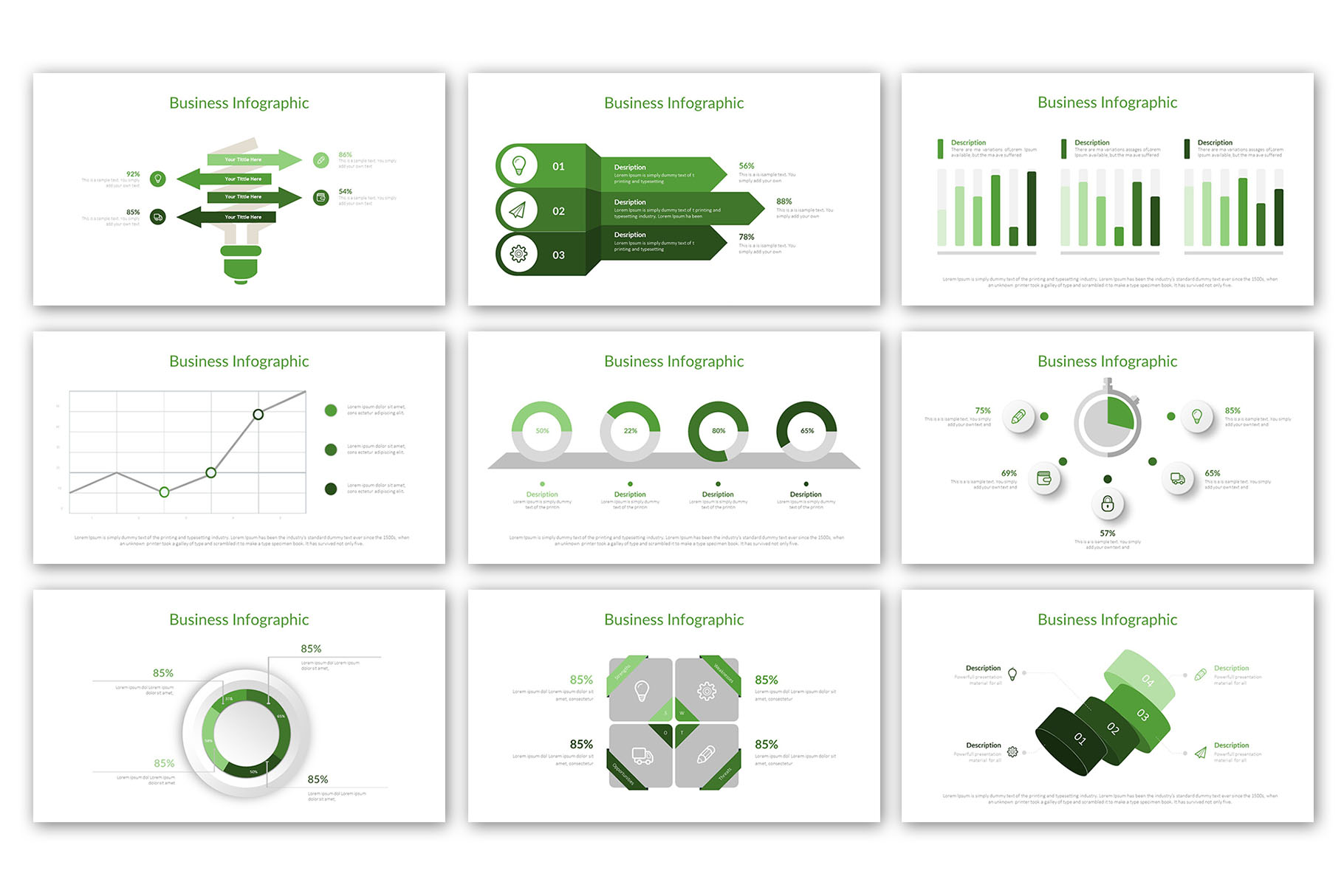 Modern Business Presentation Template example image 17