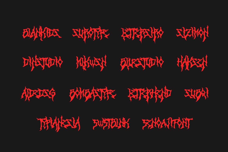 Zamruds - Tribal Font example image 7