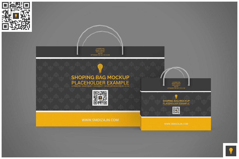 Shopping Bag Mock-up example image 10