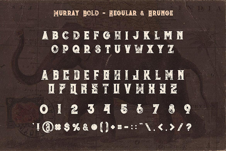 Jumbo Font Trio example image 5