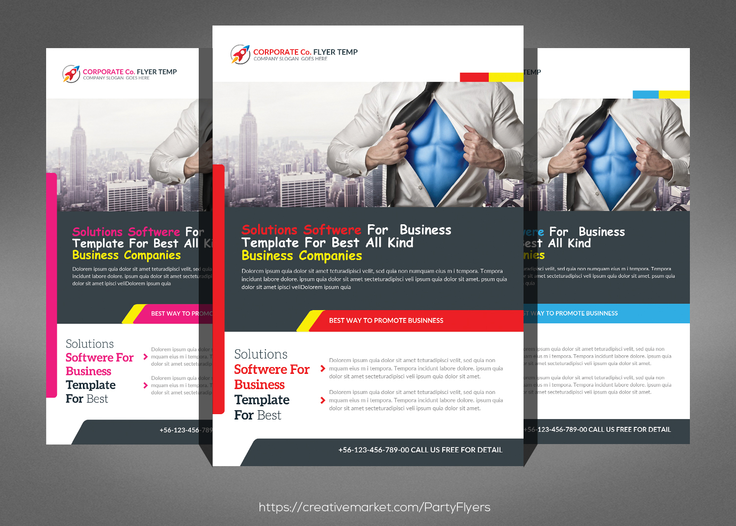 Best Business Flyers Bundle example image 4