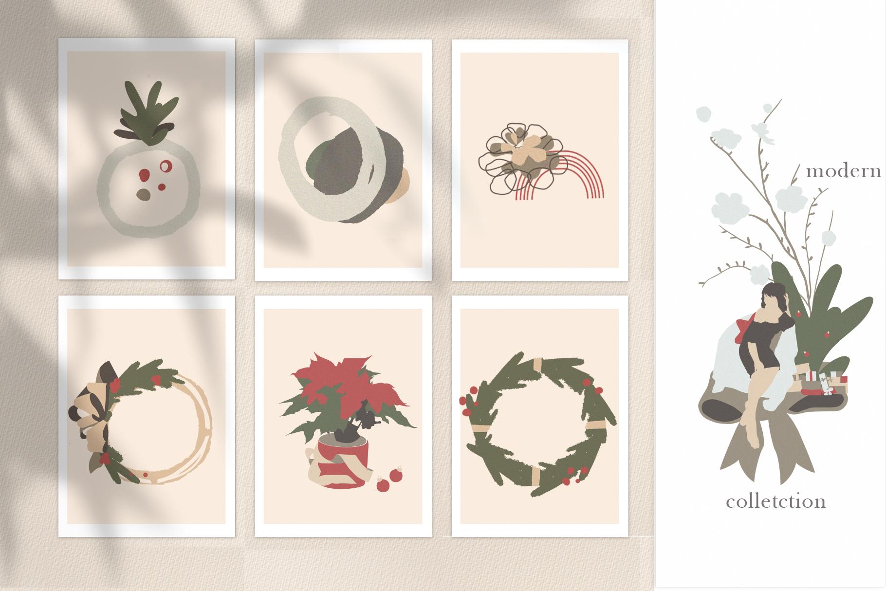 Christmas Secret Modern Graphic Set example image 5