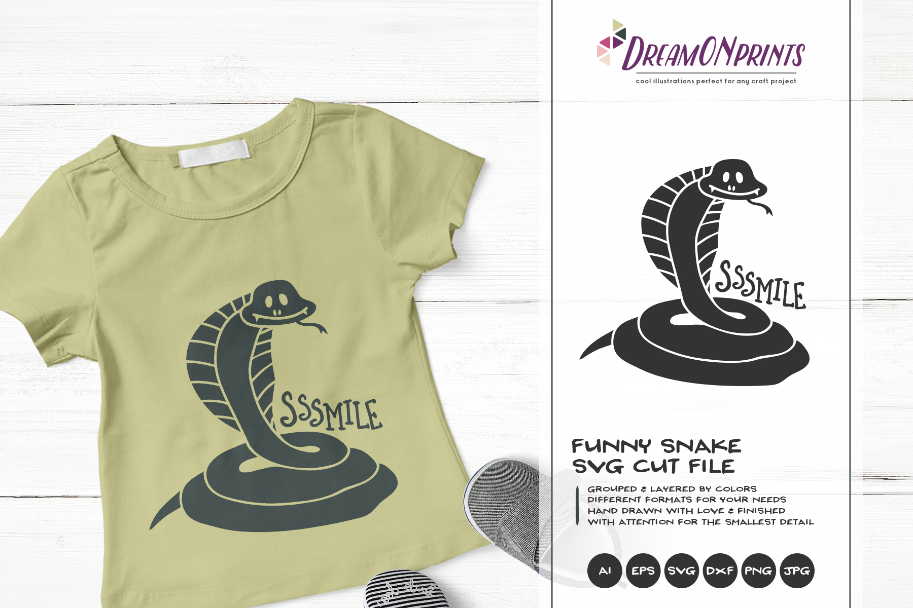 The Quirky Animals | Funny SVG Bundle example image 15