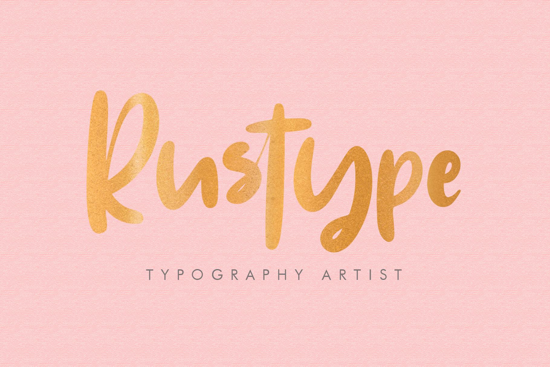 Ruthyne - Handwritten Font example image 6