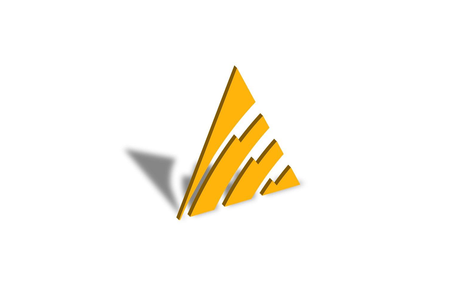 Triangle Logo Design Set example image 5