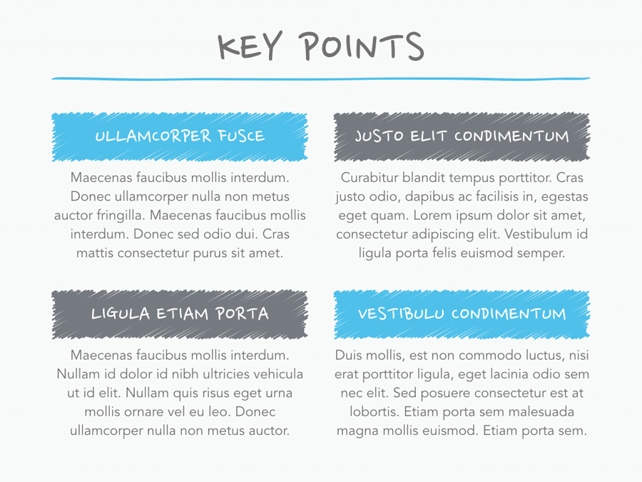 Idea Sheet PowerPoint Template example image 4