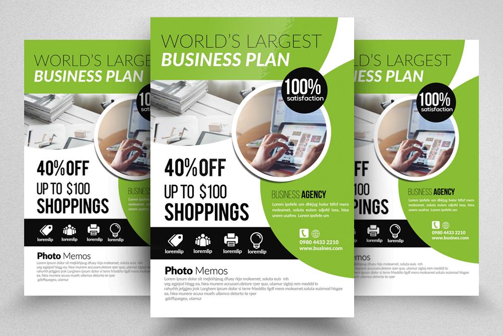 10 Business Flyer Bundle example image 9