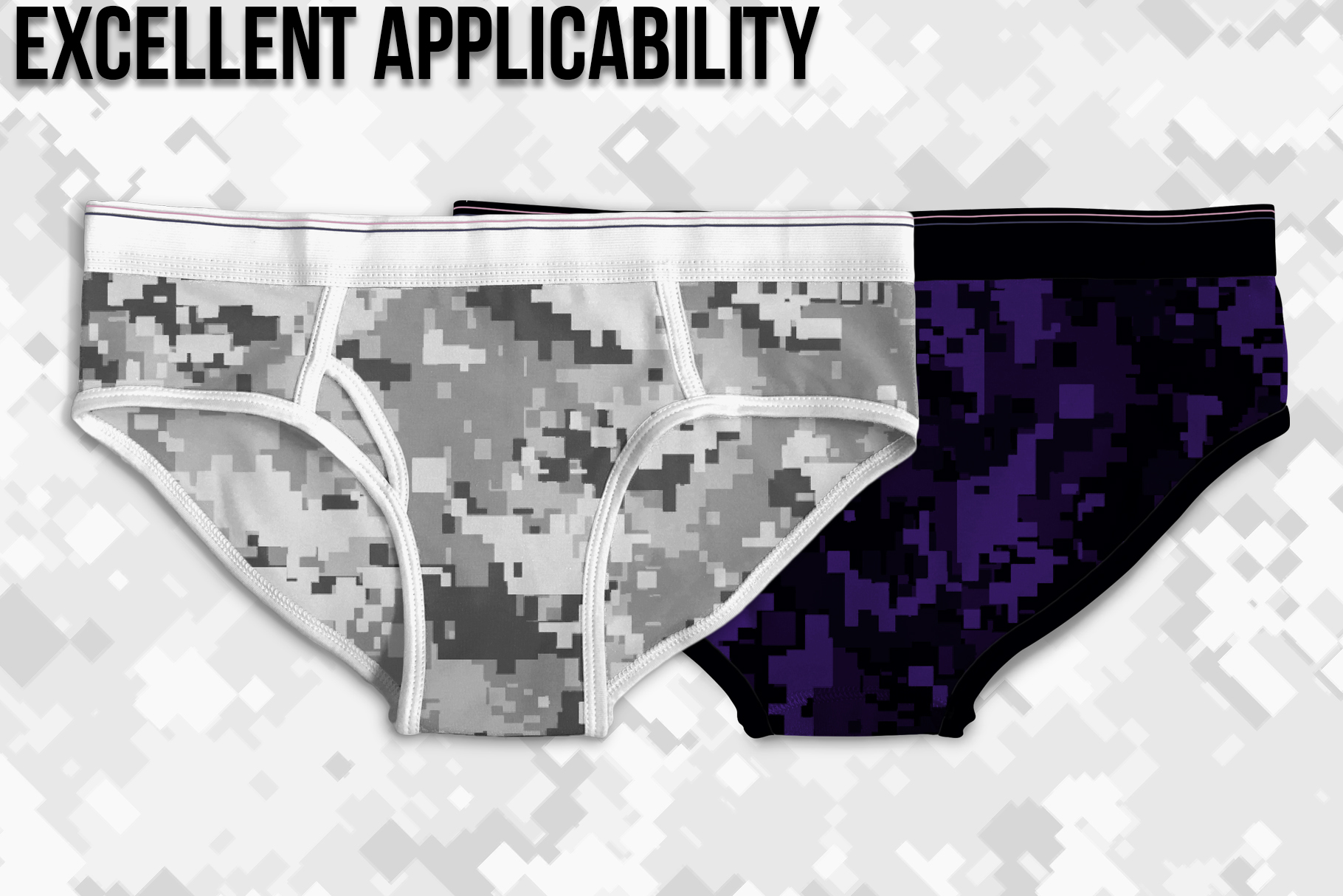 Pixel Camouflage Patterns example image 5