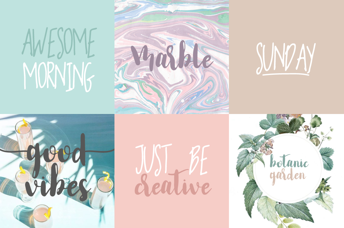Smoothie Life [Font Duo] example image 5