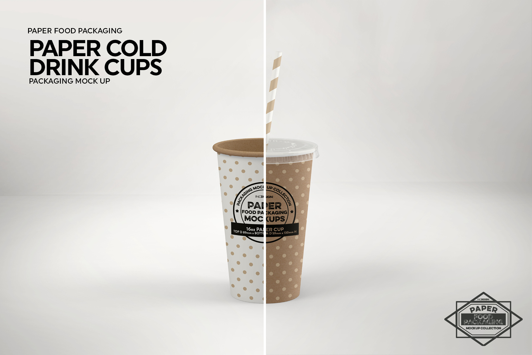 Paper Drink Cups Packaging Mockup example image 11