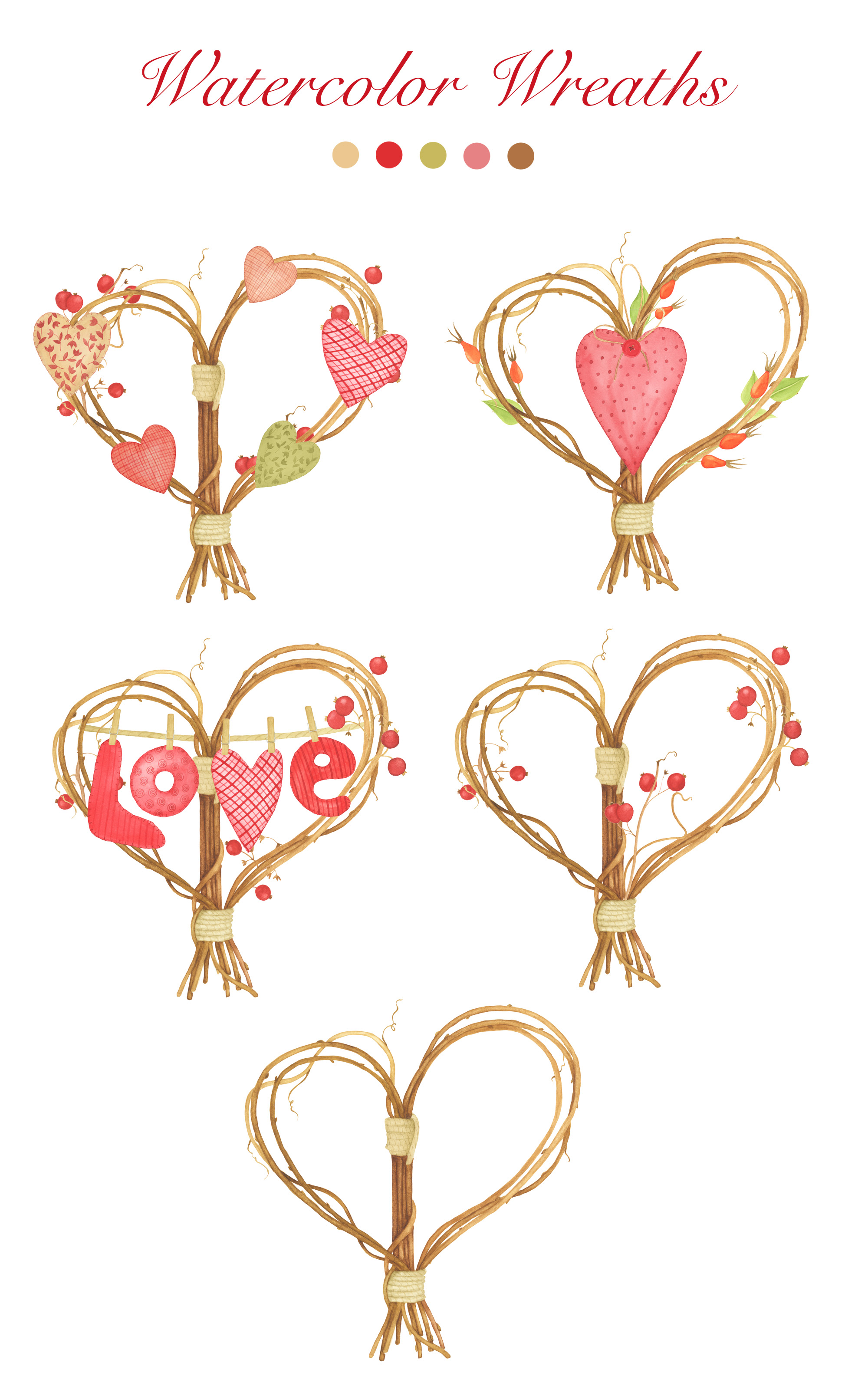 Valentine's Day Clipart example image 4