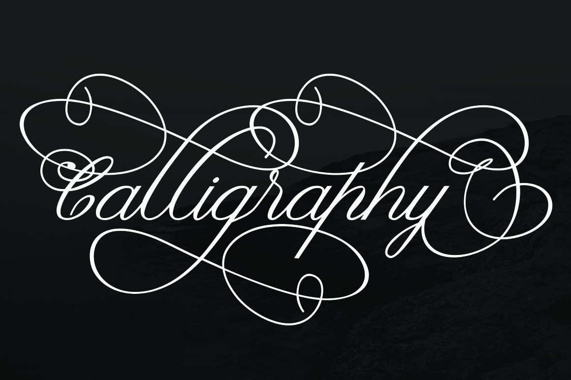 Claudia Calligraphy example image 2