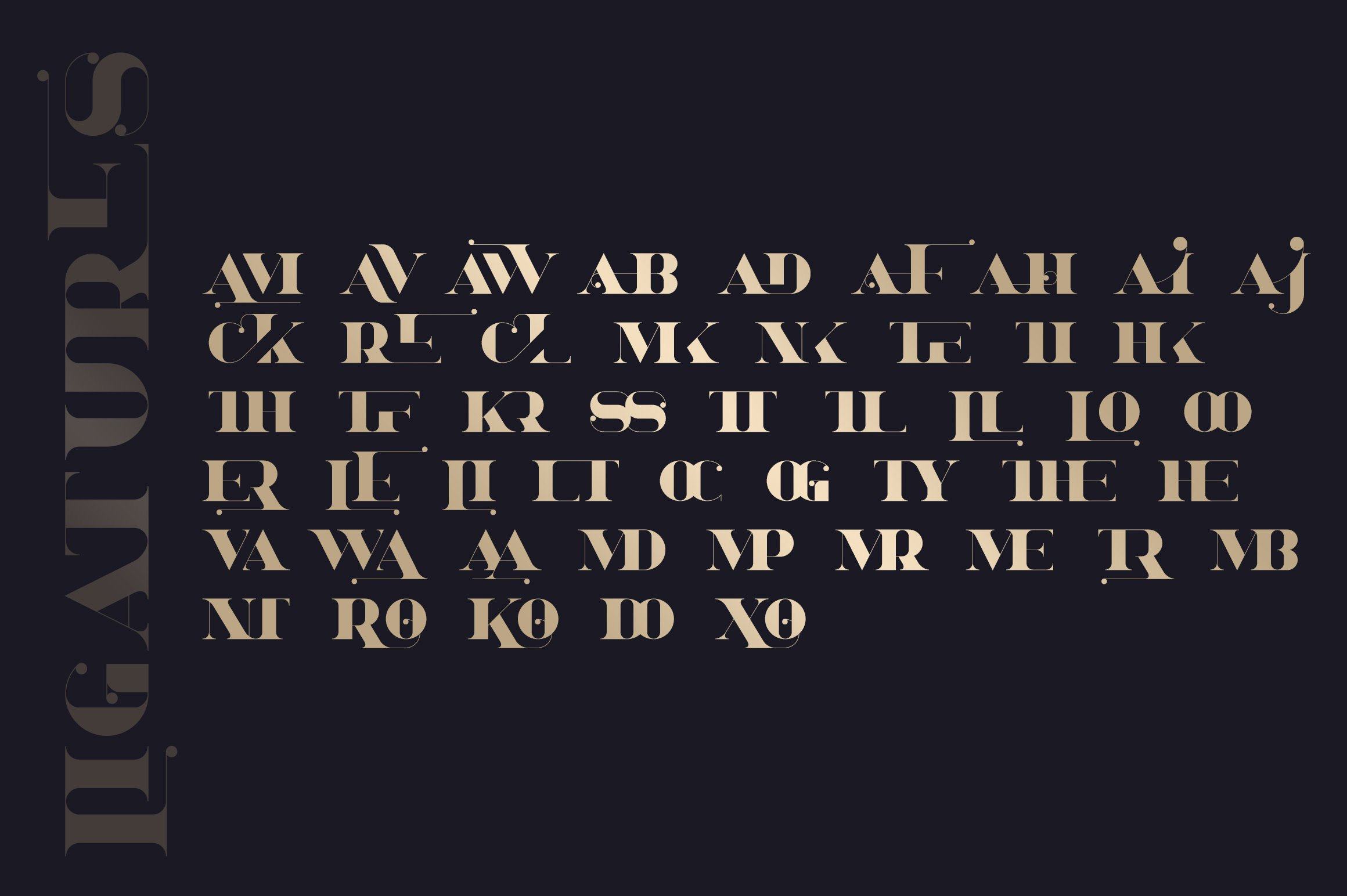 Bestseller font collection 6 typefaces in 1 example image 29