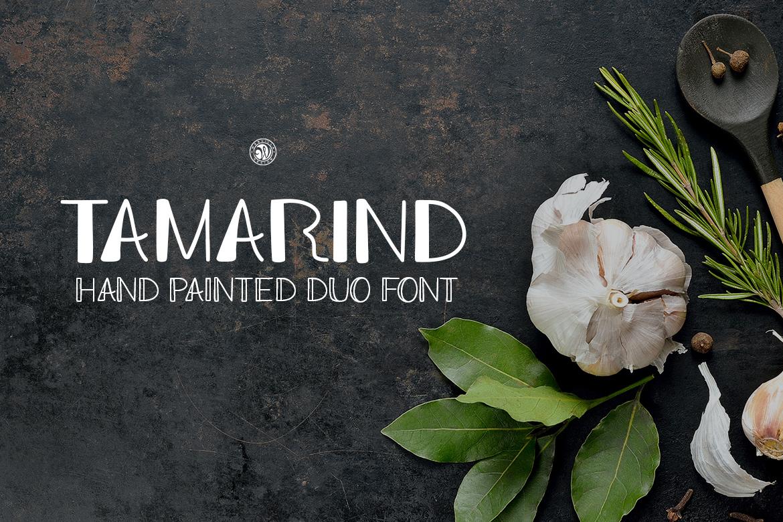 Tamarind Font Duo example image 1