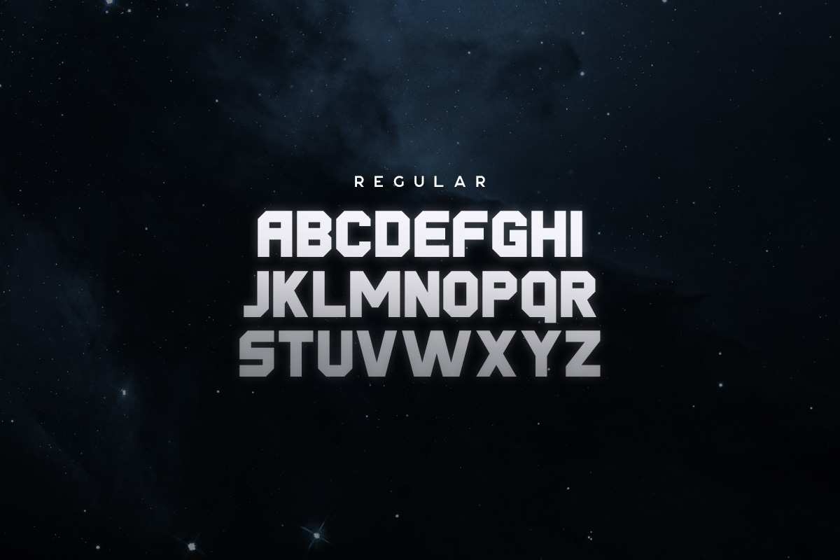 Derelict Typeface example image 3