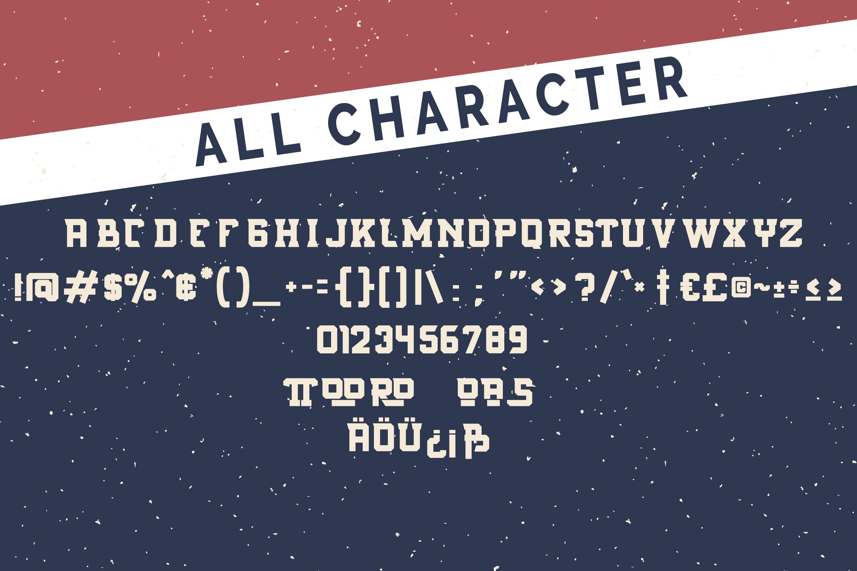Rostter Boot | Serif Sport Font example image 6