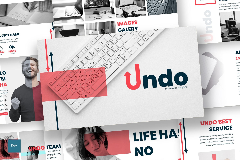 Undo - Keynote Template example image 1