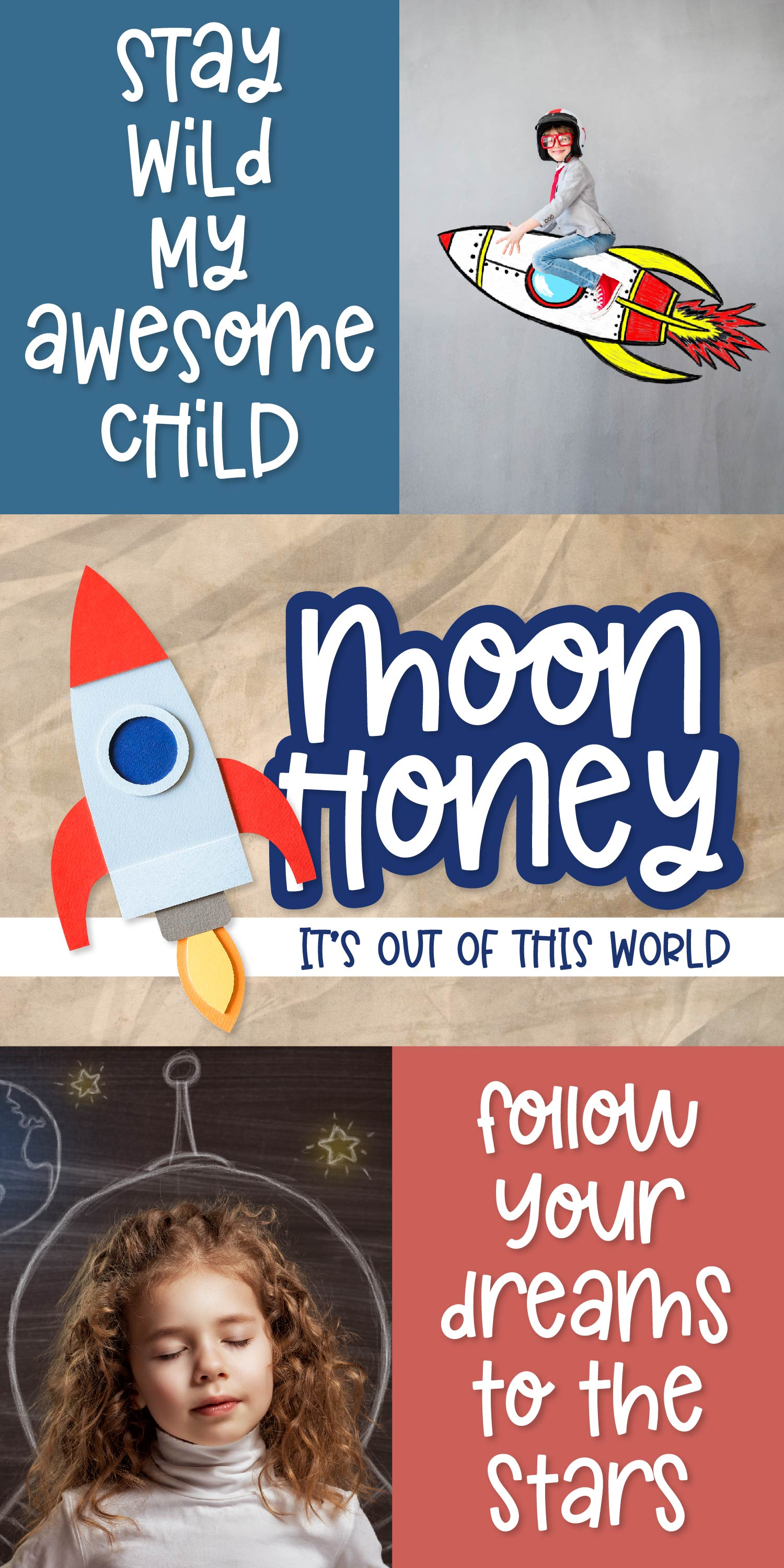 Moon Honey - An Out of this world thick Sans Serif example image 8