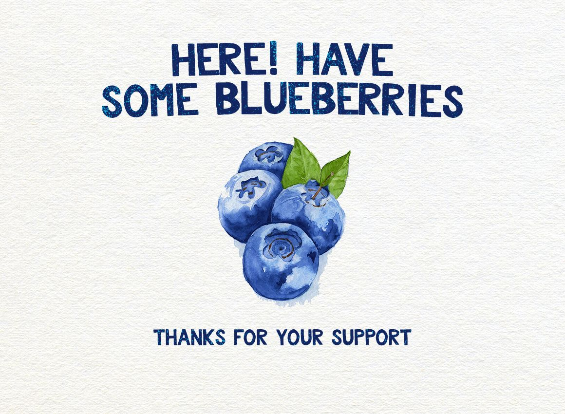 Bluberry Typeface example image 9